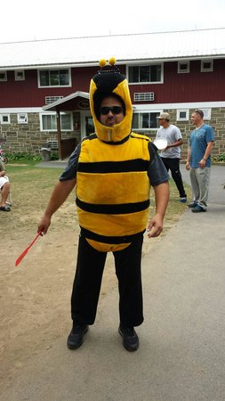 Sunny Hill Resort and Golf Course : A visit from the bumble bee