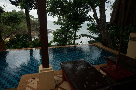 Crown Lanta Resort & Spa : private pool