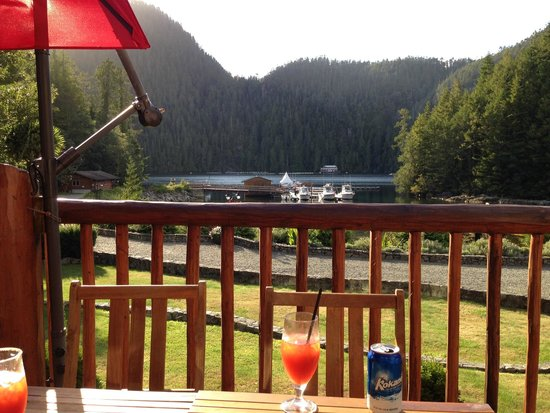 Eagle Nook Resort & Spa: View from Patio during Happy Hour