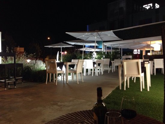 Hotel San Ranieri : The garden/ bar