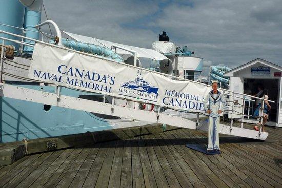 HMCS Sackville: Welcome