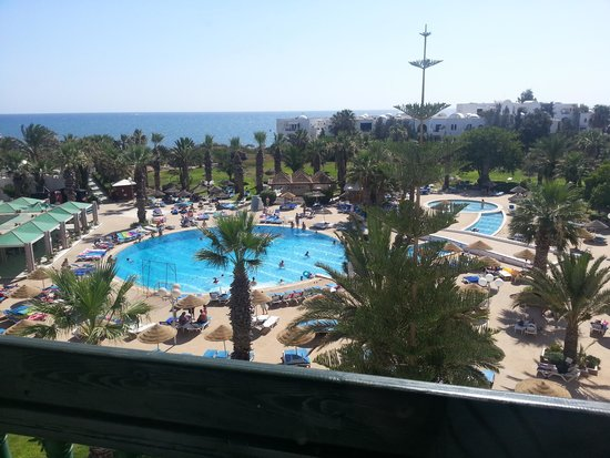 Marhaba Palace Hotel: view from room,beautiful