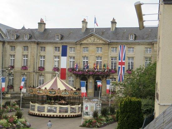 Hotel Reine Mathilde: View from room 12