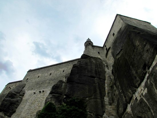 Festung Königstein: This is exactly why skipping the elevator ride isn't a bad idea - lots of photo ops along the wa