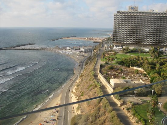 Carlton Tel Aviv View Of The Beach From Rooftop Pool