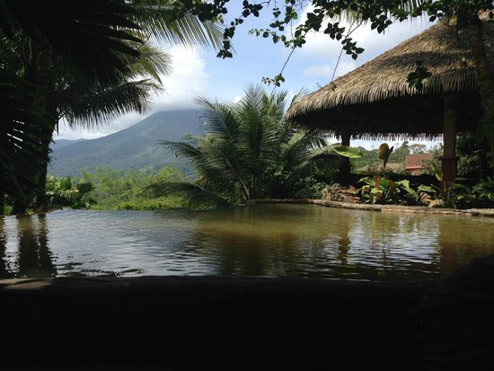 The Springs Resort and Spa : One of the upper hot spring pools