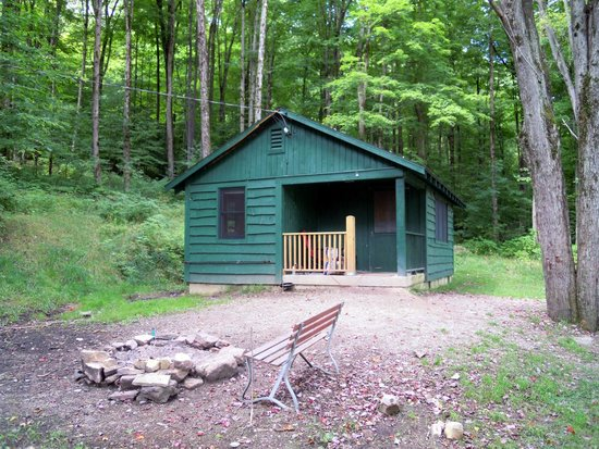 Charmant Allegany State Park Campground: Congdon Cabin