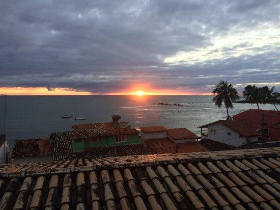 Vista Bela Pousada: vista do quarto (amanhecer)