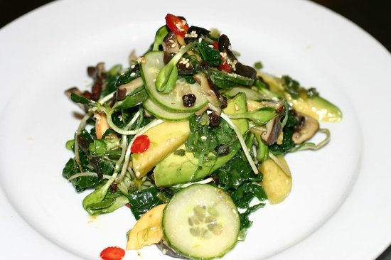 Thomas Hill Organics: Black Kale, apple salad