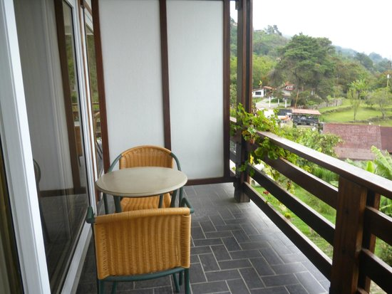 Hotel Bergland: balcon de la habitacion