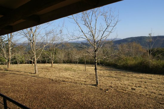 Windmill Wine Shop and Cottages: Mooi buiten zicht naar de bergen