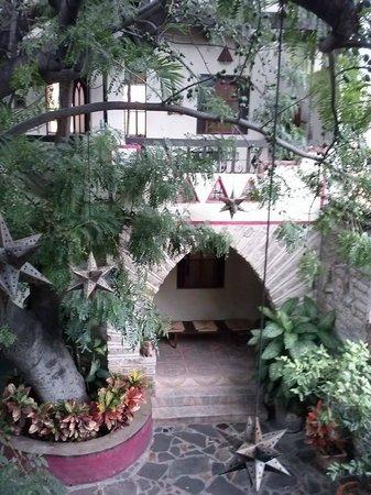 Hotel Casa Blanca: vista superior de patio
