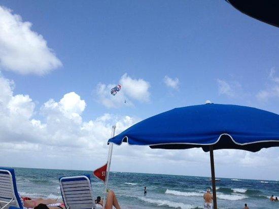 B Ocean Resort Fort Lauderdale: It was a nice day