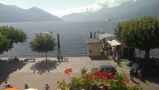 Piazza Ascona Hotel & Restaurants: Ausblick vom Zimmer