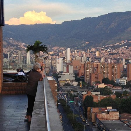 Tryp Medellin: view from the roof