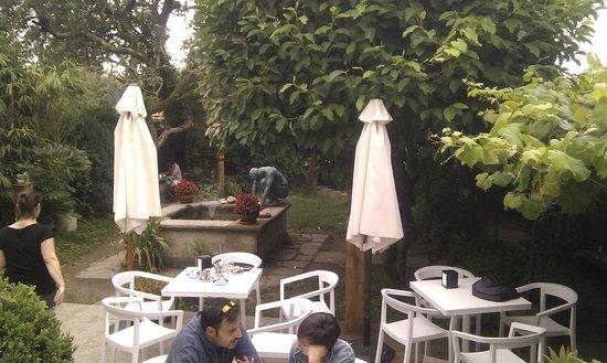 terraco jardins brunch:Breakfast in the Garden – Foto de Costa Vella Hotel, Santiago de