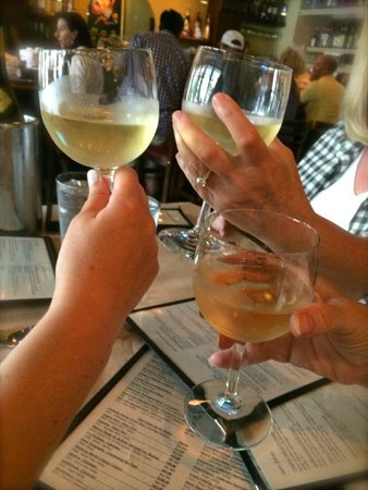 Everyday People Cafe: Lovely Sauterne to begin