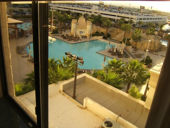Excalibur Hotel & Casino: view from the room