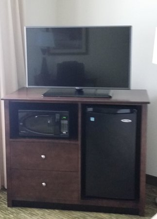 "Hampton Inn Dover: 42"" TV in Guest Room"