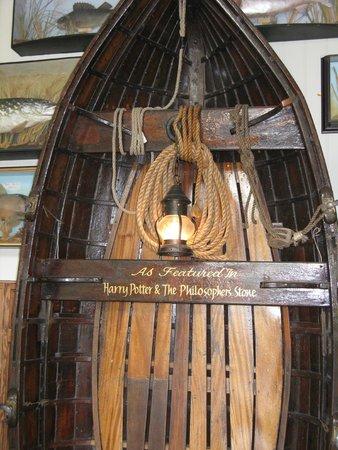 The Black Rabbit: Harry Potter's Boat