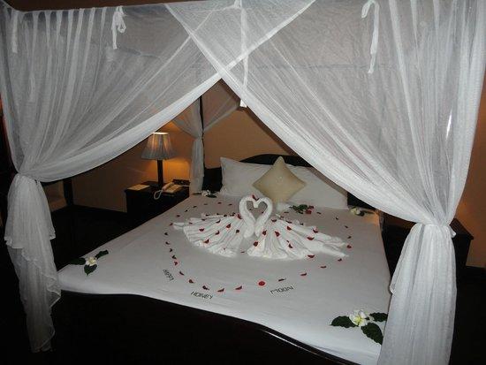 Pacific Hotel & Spa: Letto