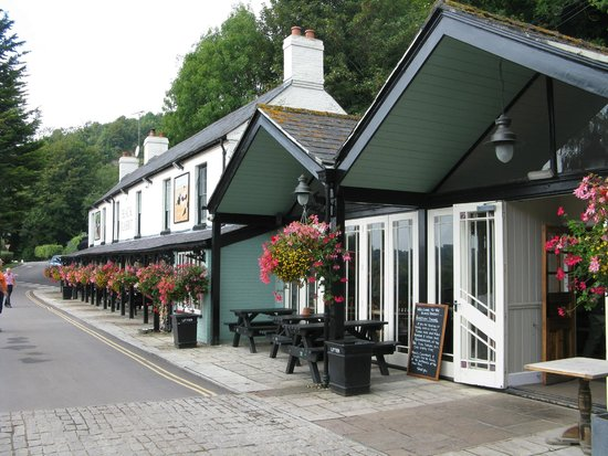 The Black Rabbit: More outside seating on other side of road and further up the street