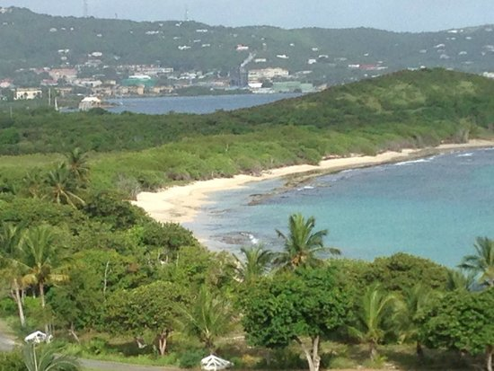 The Buccaneer -- St Croix: view from breakfast dining area