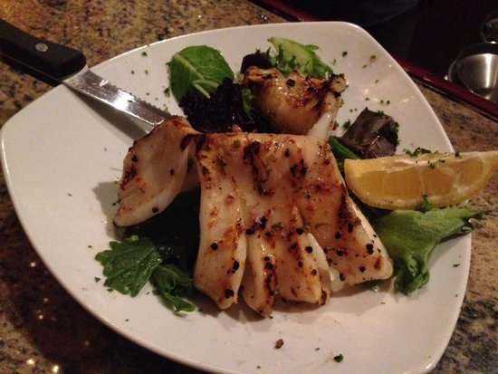 Grilled calamari - Picture of Donatello Restaurant, Toronto ...