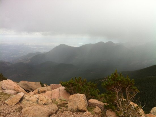 Pikes Peak: almost at the top!!