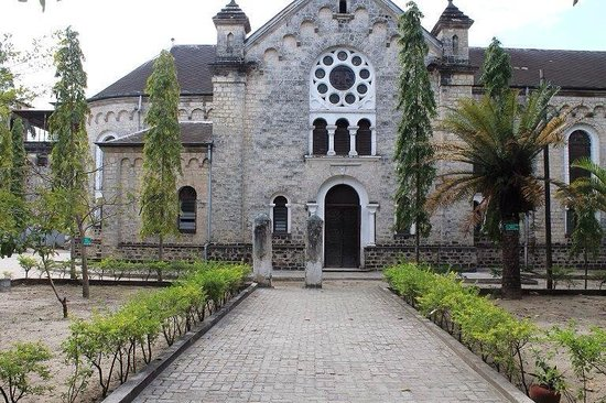 Bagamoyo Museum: The second church built by the missioners in Bagamoyo.
