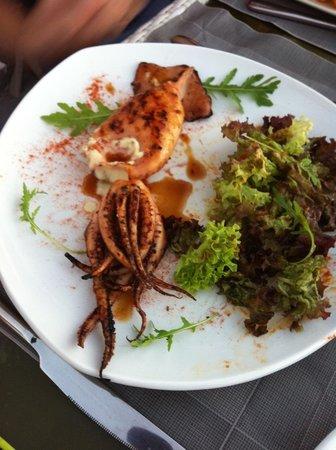 Ochre Restaurant : Delicious calamari
