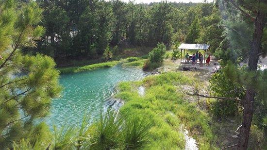 Huntsville, TX: Blue Lagoon