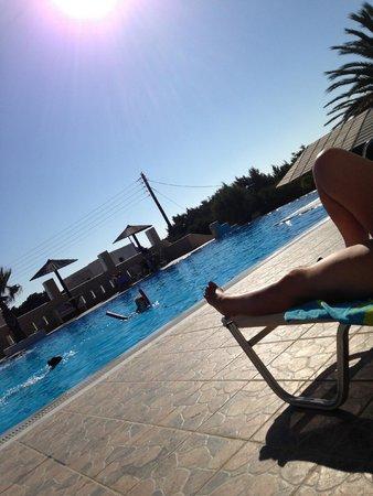 Faros Villa : Infinity pool