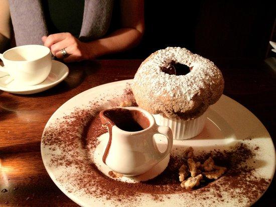 Veritable Quandary : Chocolate Nocello Souffle
