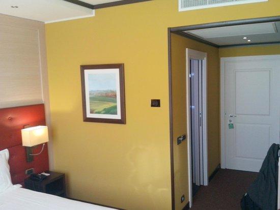 Palace Hotel Legnano: dettaglio camera