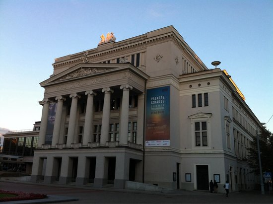 Latvian National Opera : National Opera House