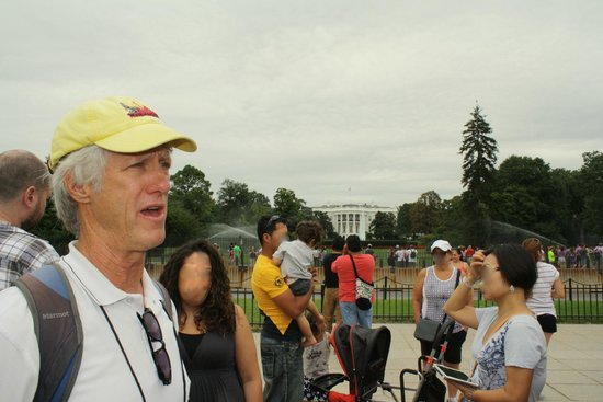 Walk of the Town: Tim at the Ellipse/White House