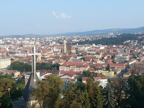 Hotel Belvedere: View from Hotel