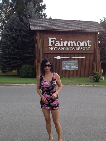 Fairmont Hot Springs Resort: almost there