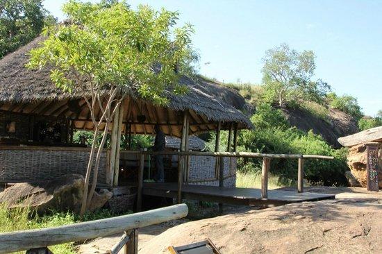 Maweninga Camp Bar Dining Room At Mawe Ninga