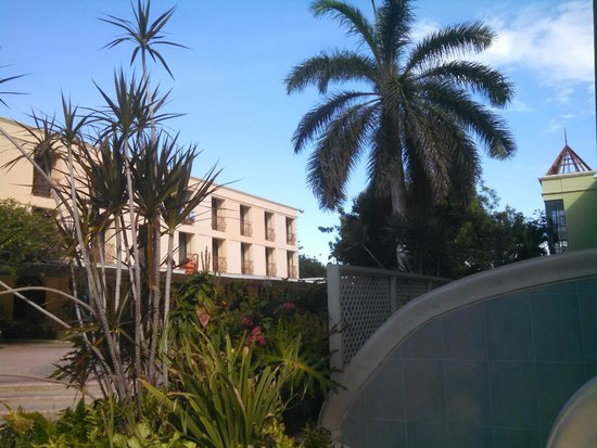 The Knutsford Court Hotel: view from poolside