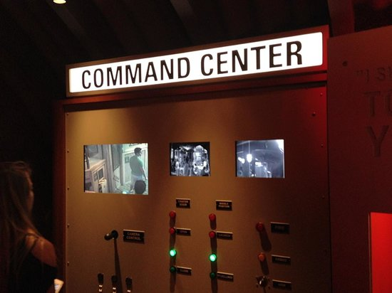 International Spy Museum : Learning to complete spy mission