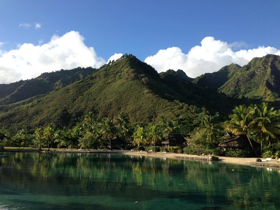 InterContinental Moorea Resort & Spa: View from bungalow