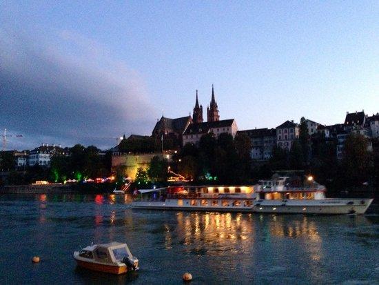 Grand Hotel Les Trois Rois: Basel Minster by Dr Garry Bonsall, Basel's English Dentist