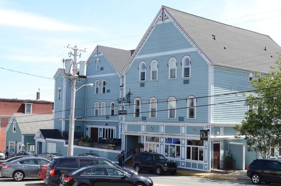 Lunenburg Arms Hotel: View of the Arms