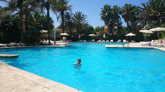 Pueblo Menorquín: Quiet pool area, even in August