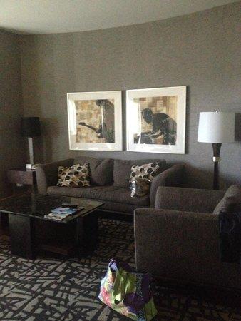 Seminole Hard Rock Hotel Hollywood: living area