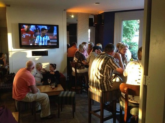 Bawn Lodge: Our popular Lodge Bar is also open to the public