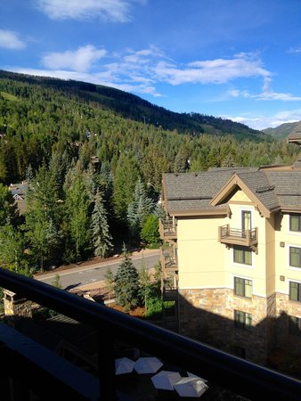 Four Seasons Resort and Residences Vail: View from room
