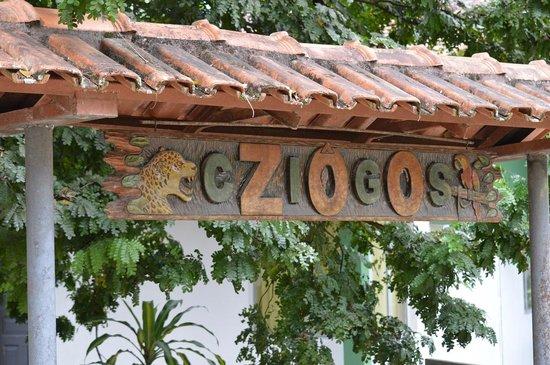 name board picture of cigs zoo manaus tripadvisor